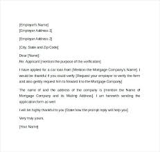 Request Employment Verification Letter Proof Of Employment Letter Template Professional