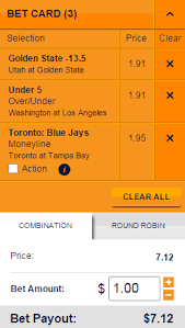 Round Robin Parlay Chart What Are Combination Or Parlay Bets Help Center