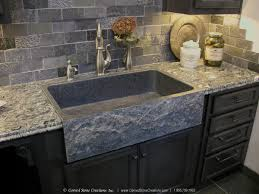Kitchen And Granite Top 5 Reasons To Install A Granite Kitchen Sink Carved Stone Creations