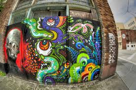outdoor gear graffiti seattle wa just around the corner from the nature themed alley graffiti the north wall the feathered friends retail store  on wall art seattle wa with wall art in seattle bonnes mares