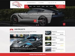 Download Free Automobile Car Dealer Wordpress Theme