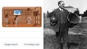 Dr James Naismith Google Doodle ...