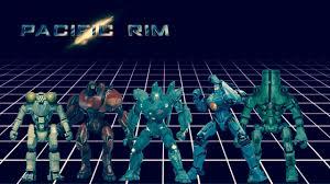 Pacific Rim Jaegers Size Comparison