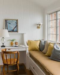 gallery small home office white. 7-A-relaxing-window-seat-adds-to-the- Gallery Small Home Office White L