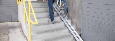 bicycle access ramp