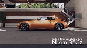 Forza 5 Drift Car Building & Tuning - #12 - Nissan 350z - YouTube