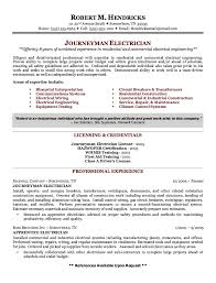 Electrician Resume Simple Pin By Latifah On Example Resume CV Pinterest Journeyman