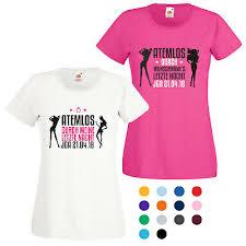 Jga T Shirt Mit Motiv Atemlos Durch Die Letzte Nacht Spruch Fun
