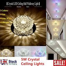 5w crystal ceiling lights led light