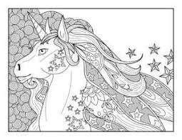 Download this unicorn coloring page for kids vector illustration now. 20 Free Printable Unicorn Coloring Pages The Artisan Life