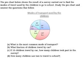 Chart A Bus Please Answer This Question The Pie Chart Below Shows The