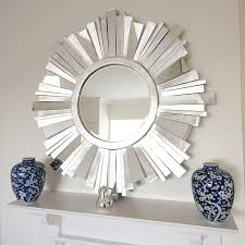 contemporary wall mirrors decorative circle