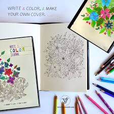 mandala coloring book ruled journal flexy customize cover lined notebook cuadernos de mandalas cahier in notebooks from office supplies on