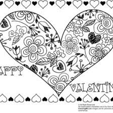 Small Picture Valentine Coloring Pages For Adults Archives Mente Beta Most