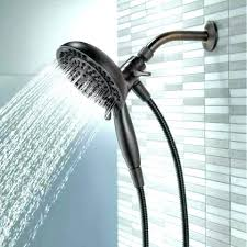 dual shower head adapter marvelous delta 2 in 1 hand held and with show handheld