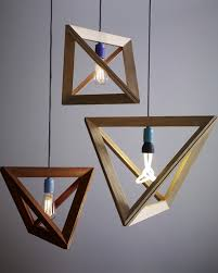 3 wood pendant lamps by herr mandel home interior lighting pendants