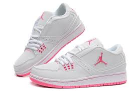 jordan shoes for girls 2016. girls air jordan 1 flight low white pink newest for sale-1 shoes 2016 f