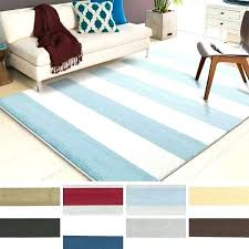 blue and white striped rug navy area best decor things 8x10 reg
