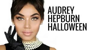 easy diy costume audrey hepburn makeup tutorial breakfast at tiffany s beauty beauty