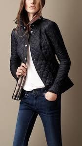 Girl's Burberry 'Mini Pirmont' Quilted Jacket | Colors, Minis and ... & Cropped Quilted Jacket | Burberry color: INK, ... Adamdwight.com