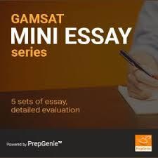 gamsat mega essay series essay sets prepgenie gamsat gamsat mini essay series