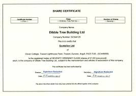 Example Of Share Certificate Gorgeous Share Certificate Number Bino48terrainsco