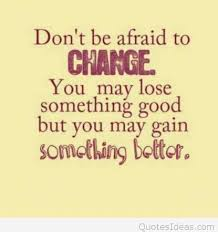 Quote On Change Extraordinary Quote Change Afraid
