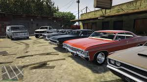 Gta Real Car Mod American Muscle Cars Youtube