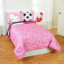 I Hello Kitty Bed Frame Twin Set With White