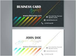 Business Card Design Template Free Designs Templates Download