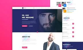 Personal Resume Website Templates Free Mmventuresco Awesome Personal Resume Website