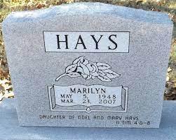 Marilyn Hays