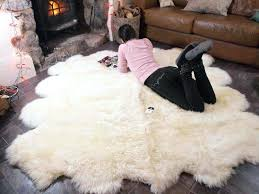 large faux sheepskin rugs large faux sheepskin rug very soft and