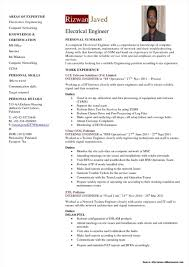 Electrical Engineer Resume Template Microsoft Word Resume
