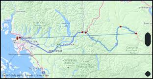 What Is The Distance From Vancouver Bc To Hedley Canada