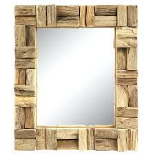Spiegel Holz Beleuchtung Wandspiegel Holz Cool Wandspiegel Holz