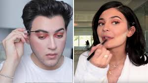 manny mua recreated kylie jenner s exact makeup routine from vogue allure