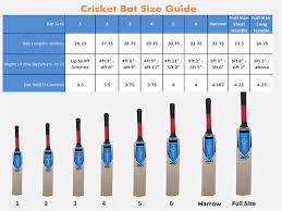 bat size chart cricket bat size guide mycochin in
