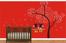 decorations minnie mouse wall decor baby disney swing