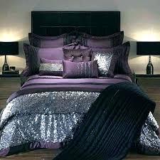 plum bedding set purple bed