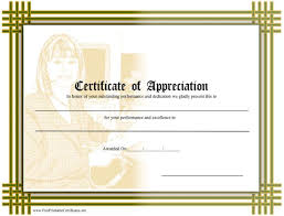 Making A Certificate Professional Way Of Making An Appreciation Certificate