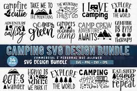 Camping Bundle Graphic By Subornastudio Creative Fabrica