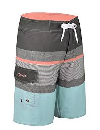 Nonwe Mens Sportwear Quick Dry Board Shorts With Lining
