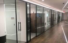 18 ladder pull glass single sliding door