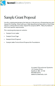 Funding Proposal Template Doc Grant Request Letter Writing
