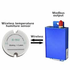 Rs485 Modbus Protocol Temperature Sensor Transmitter