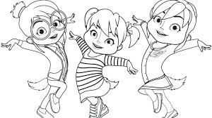 alvin and the chipmunks coloring pages to print coloring pages coloring