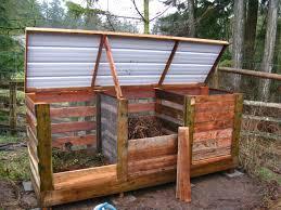 pallet diy compost bin