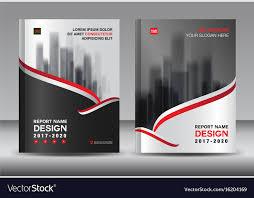 Design Brochure Template Brochure Template Layout Black Cover Design