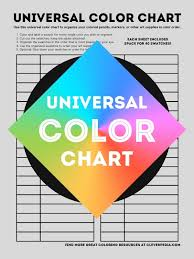 My Color Charts Create Your Own Color Reference Swatches